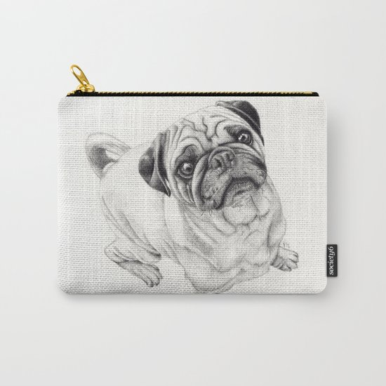 Seymour the Pug Carry-All Pouch
