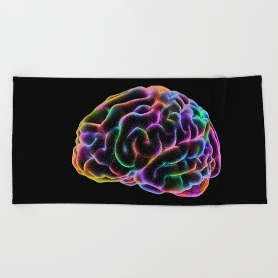 COSMIC CONSCIOUSNESS Beach Towel