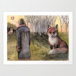 "Le Petit Prince ""Tame"" Art Print"