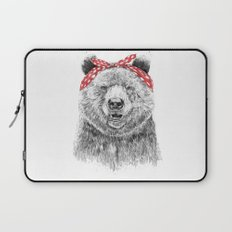 Break the rules (without text) Laptop Sleeve