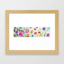 Blooming Colors Framed Art Print