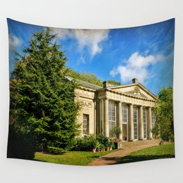 Temple Greenhouse (V2 Texture) Wall Tapestry