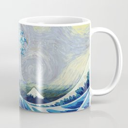 The Starry Night Wave Coffee Mug