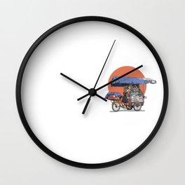 Carrito Wall Clock