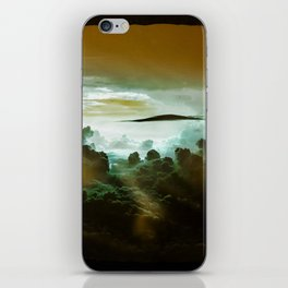 I Want To Believe - Gold iPhone Skin