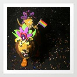 The Pride + The Parade Art Print