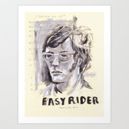 Easy Rider Collage Art Print