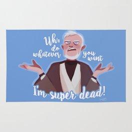I'm super dead! Rug