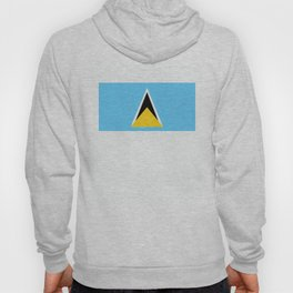 Saint Lucia country flag Hoody