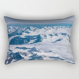 Aerial Glacier Four - Alaska Rectangular Pillow