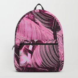 Alien Plant life pink Backpack