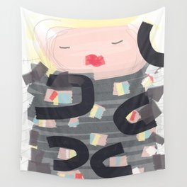 Be a doll - Vindi Vindaloo Design Wall Tapestry
