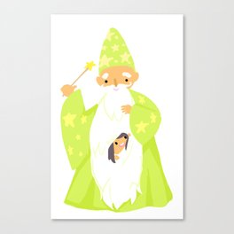 Wizards Are Your BFFs Canvas Print