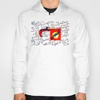 bazinga Hoodies featuring BAZINGA!   -   012 by Lazy Bones Studios