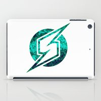 metroid iPad Cases featuring Metroid Logo by Bradley Bailey