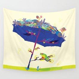 Summer Nap Wall Tapestry