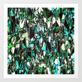 Abstract Geometric Configuration Art Print