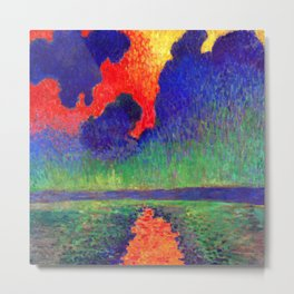 Andre Derain Effects of Sunlight on Water Metal Print