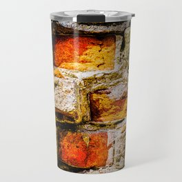 Bricks And Mortar Travel Mug