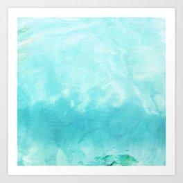 Aegean Sea No.1 Art Print