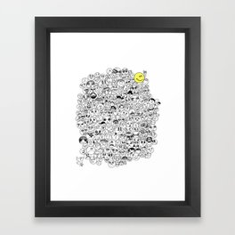 The Eternal Optimist Framed Art Print