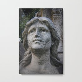 Cemetery Sculpture Metal Print
