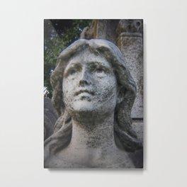 Cemetery Sculpture Metal Print