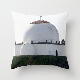 Arab Mosque Throw Pillow
