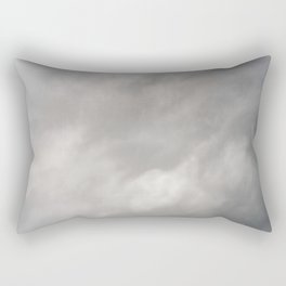 Gray Clouds Rectangular Pillow