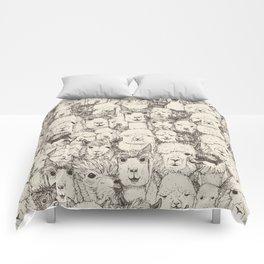 just alpacas natural Comforters
