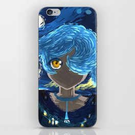 Starry Night Eye iPhone Skin