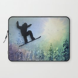 The Snowboarder: Air Laptop Sleeve