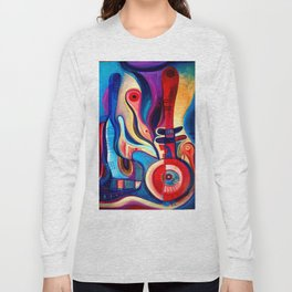 abstract #223 Long Sleeve T-shirt