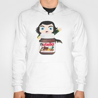 nutella Hoodies featuring Loki Loves Nutella? by Lily