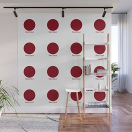 Red Devil Wall Mural