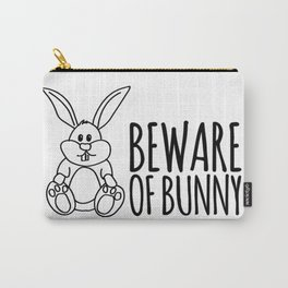 Beware of bunny Carry-All Pouch
