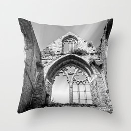 Beauport Abbey Throw Pillow