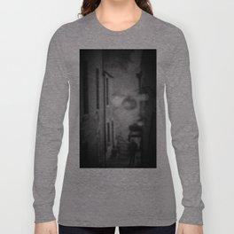 Black Alleyway Long Sleeve T-shirt