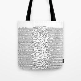 Unknown Pleasures - White Tote Bag