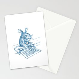Cup O' Coffee NYC Style_rat Stationery Cards