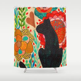Sometimes My Love Is A Wild Thing Shower Curtain