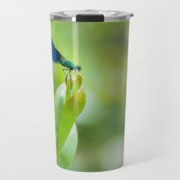 Metallic dragonfly Travel Mug