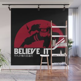 BELIEVE IT! Naruto Wall Mural