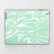Seafoam & White Laptop & iPad Skin