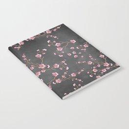 SAKURA LOVE - GRUNGE BLACK Notebook