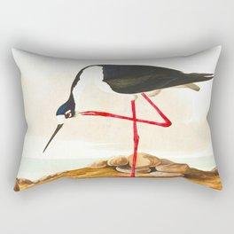 Long-legged Avocet Rectangular Pillow