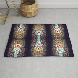 Night Butterfly - Amateur Light Show Rug