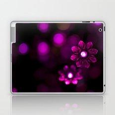 Electric Flowers (Purple) Laptop & iPad Skin