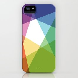 Fig. 004 Colorful Shapes iPhone Case