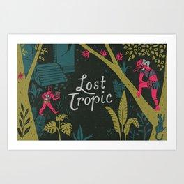 Graft - Lost Tropic Art Print